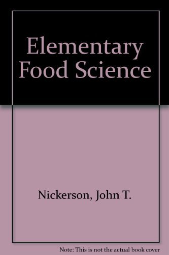 9780870551949: Elementary Food Science