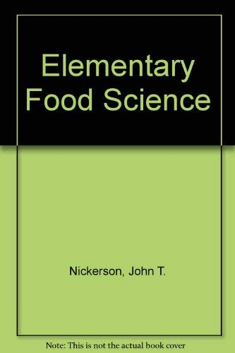 9780870553189: Elementary food science