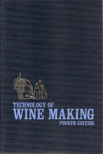 9780870553332: Technology of Wine Making