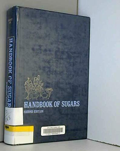 9780870553486: Handbook of Sugars