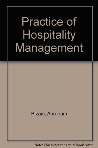 9780870554018: Practice of Hospitality Management