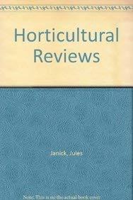 Horticultural Reviews: Jules Janick