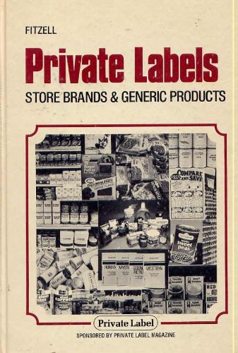 9780870554155: Private Labels: Store Brands & Generic Products