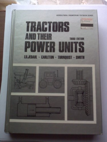 Tractors and Their Power Units: E. L. Barger