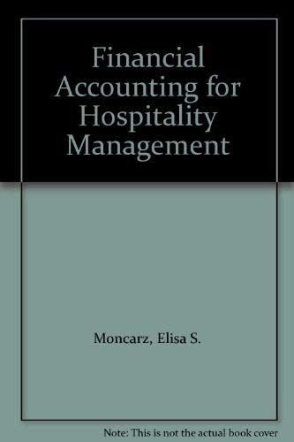 9780870555053: Financial Accounting for Hospitality Management