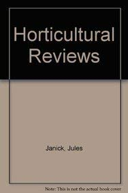 Horticultural Reviews: Jules Janick (editor)