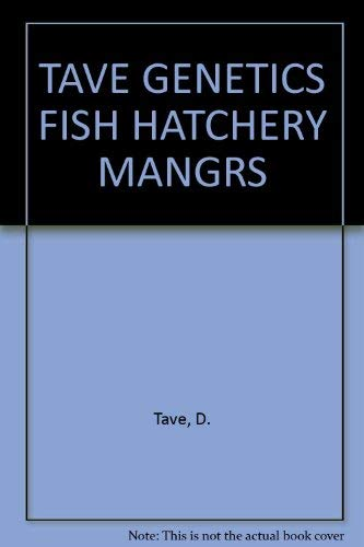 9780870555329: Genetics for fish hatchery managers