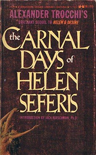 9780870562693: The Carnal Days of Helen Seferis