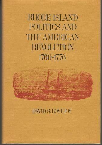 9780870570537: Rhode Island Politics And The American Revolution 1760-1776 (Brown University studies)