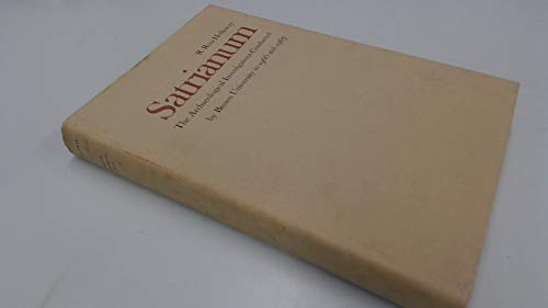 Satrianum: The Archaeological Investigations Conducted by Brown University in 1966 and 1967: ...