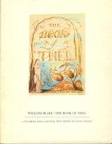 The Book of Thel - A Facsimile and a Critical Text