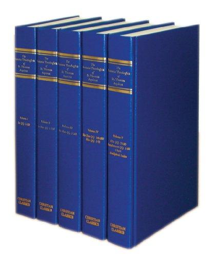 9780870610639: The Summa Theologica of St. Thomas Aquinas (Five Volumes)