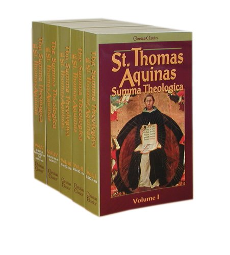 9780870610691: St. Thomas Aquinas Summa Theologica (5 volume set)