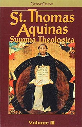 9780870610721: Summa Theologica Volume 3