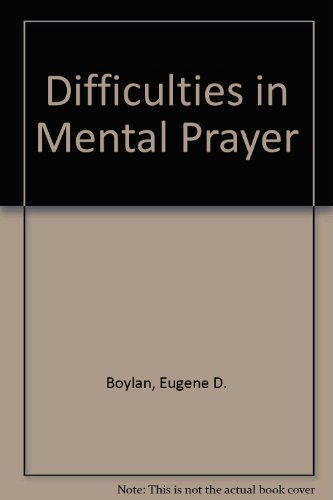 9780870611056: Difficulties in Mental Prayer