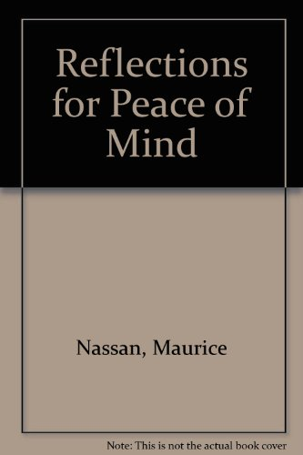 Reflections for Peace of Mind