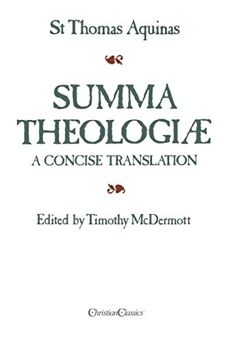 9780870612107: Summa Theologiae: A Concise Translation