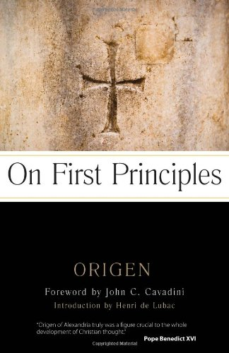 9780870612794: On First Principles