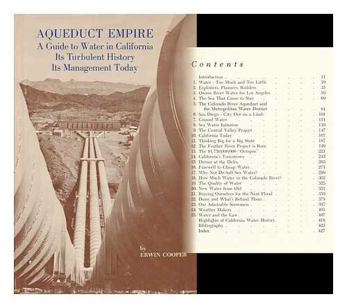 9780870620089: Aqueduct Empire: A Guide to Water in California, Its Turbulent History and Its Management Today