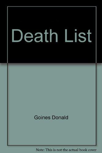 9780870670701: Death List