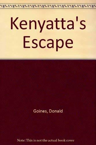 Kenyatta's Escape: Goines, Donald