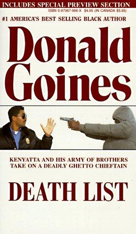 Death List (Holloway House Originals): Goines, Donald