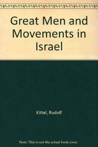9780870680717: Great Men and Movements in Israel