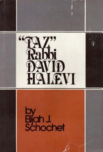 Taz: Rabbi David Halevi: Schochet, Elijah J.