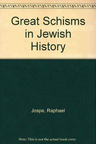 9780870687112: Great Schisms in Jewish History