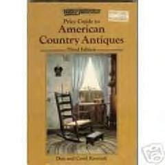 9780870693021: Price Guide to American Country Antiques