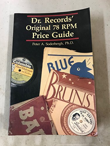 9780870694172: Dr. Records' original 78 RPM price guide
