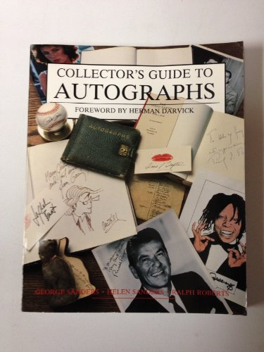 9780870695568: Collector's Guide to Autographs (Wallace-Homestead Collector's Guide Series)