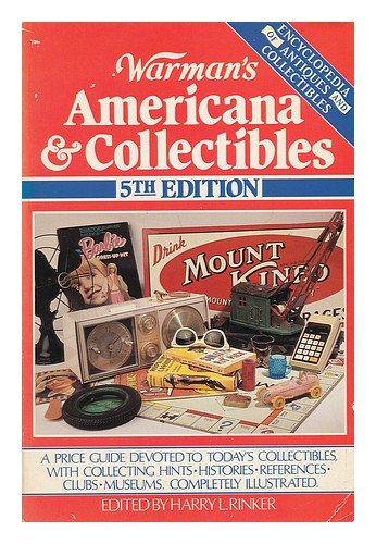 9780870696152: Warman's Americana & Collectibles, Fifth Edition