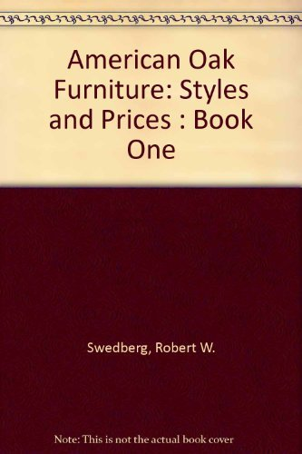 9780870696213: American Oak Furniture: Styles and Prices : Book One