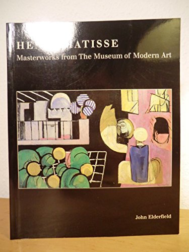 9780870701139: Henri Matisse: Masterworks from the Museum of Modern Art