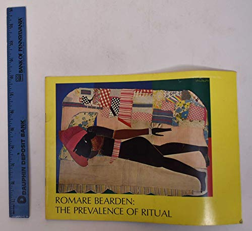Romare Bearden: The Prevalence of Ritual; Introductory Essay by Carroll Greene.: Bearden, Romare, ...