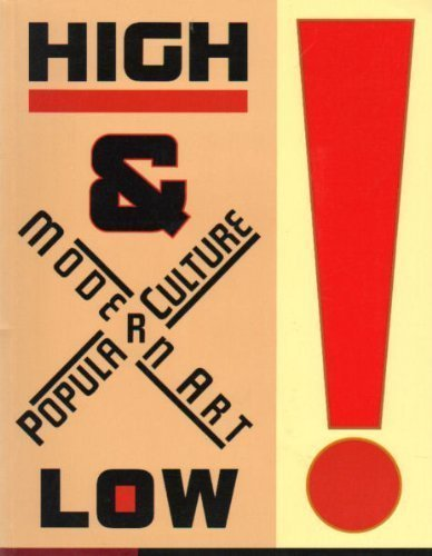 9780870703546: High and Low : Modern Art and Popular Culture