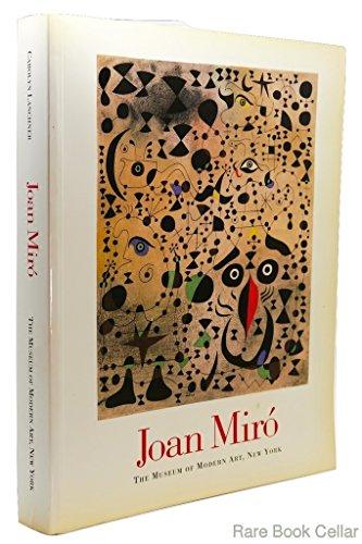 joan miro a museum of modern art book