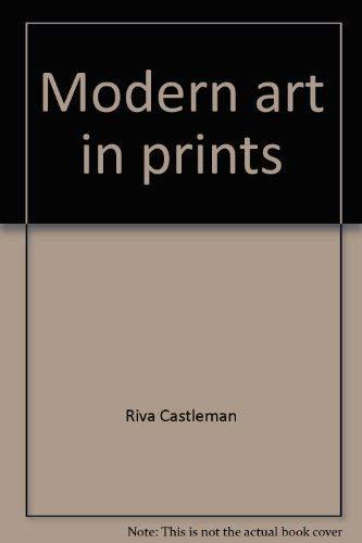 9780870704611: Modern art in prints