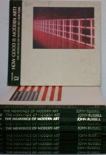 9780870704772: The Meanings of Modern Art (12-Volume Set)