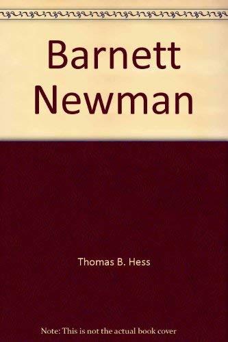 9780870705007: Barnett Newman
