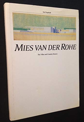 9780870705588: Mies van der Rohe: The villas and country house