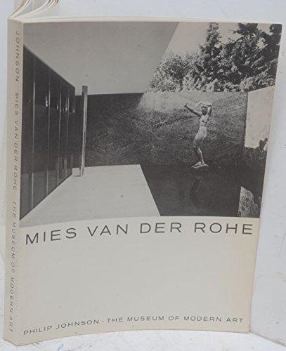 9780870705601: Mies Van Der Rohe