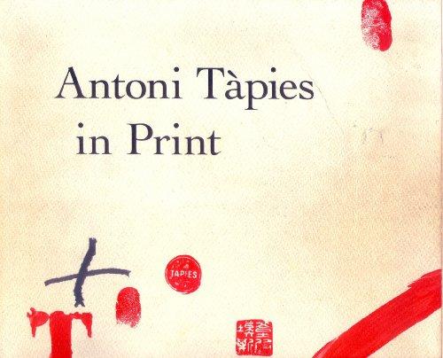 9780870706035: Antoni Tapies in Print