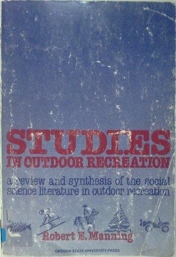 9780870713453: Studies in Outdoor Recreation