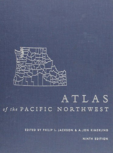 9780870715624: Atlas of the Pacific Northwest, 9th Ed