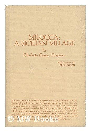 9780870737640: Milocca: A Sicilian Village