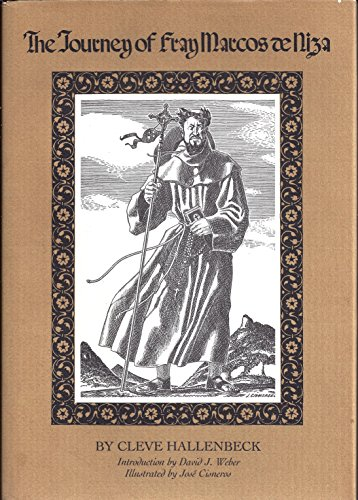 9780870742156: The Journey of Fray Marcos De Niza (English and Spanish Edition)