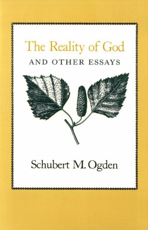 9780870743184: The Reality of God and Other Essays