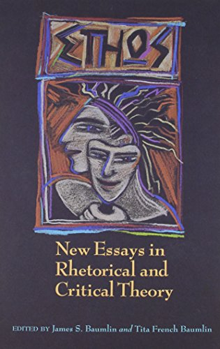 9780870743450: Ethos: New Essays in Rhetorical and Critical Theory (SMU Studies in Composition and Rhetoric)
